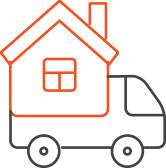 buying process icon delivery