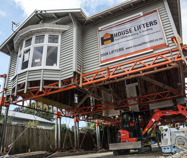 NZ house lifting and sliding service offered by House Lifters